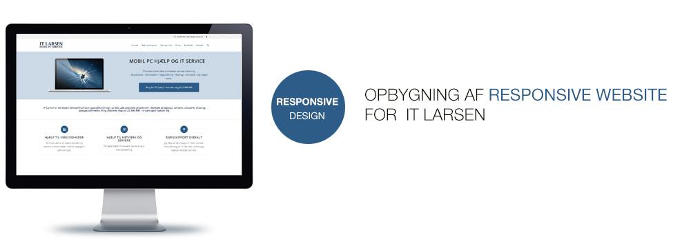 IT Larsen hjemmeside