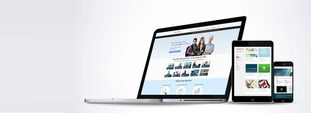 Hjemmesider hos Bluepoint