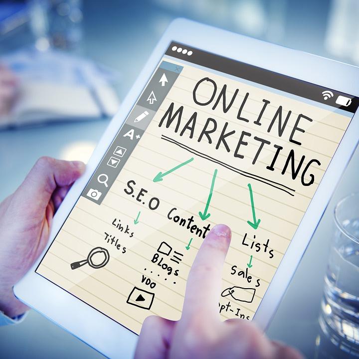 Online markedsføring på iPad
