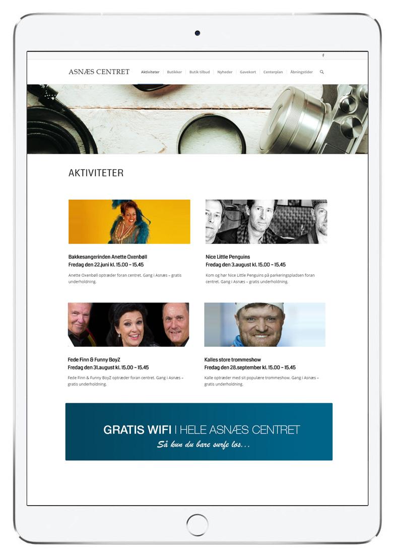 UX design og grafisk design iPadpro