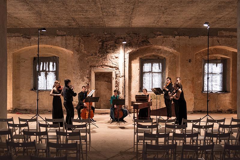 Billede af musikere til Københavns Barok festival