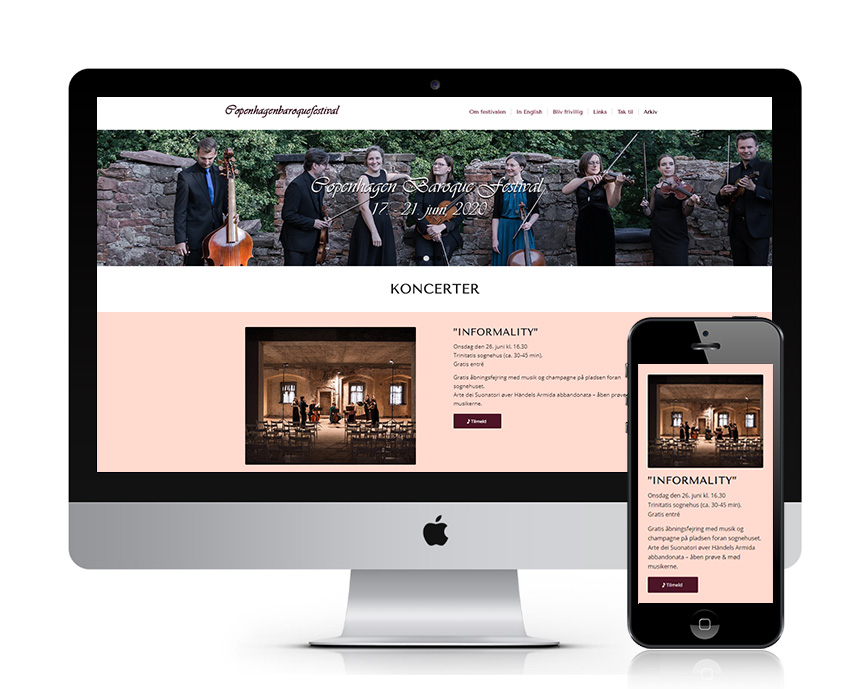Klassisk musik på Københavns Barok Festival