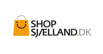 Shopsjælland logo