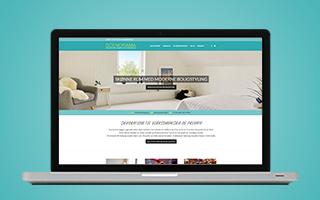 Screenshot af Scenoramas hjemmeside